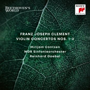 Cover Beethoven's World - Clement: Violin Concertos Nos. 1 & 2