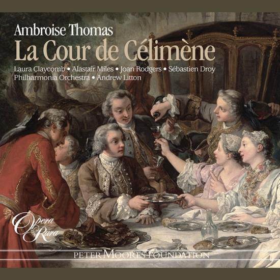 Cover Thomas: La Cour de Célimène
