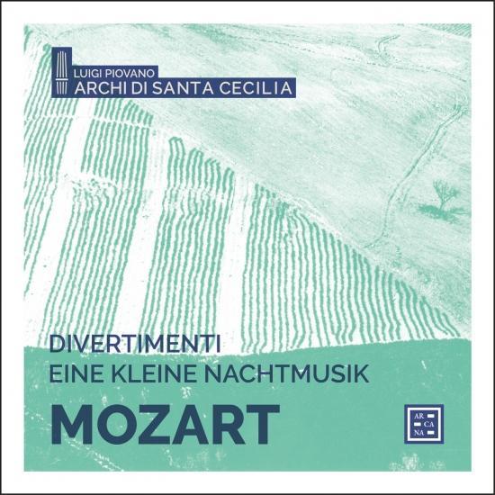 Cover Mozart: Divertimenti & Eine kleine Nachtmusik