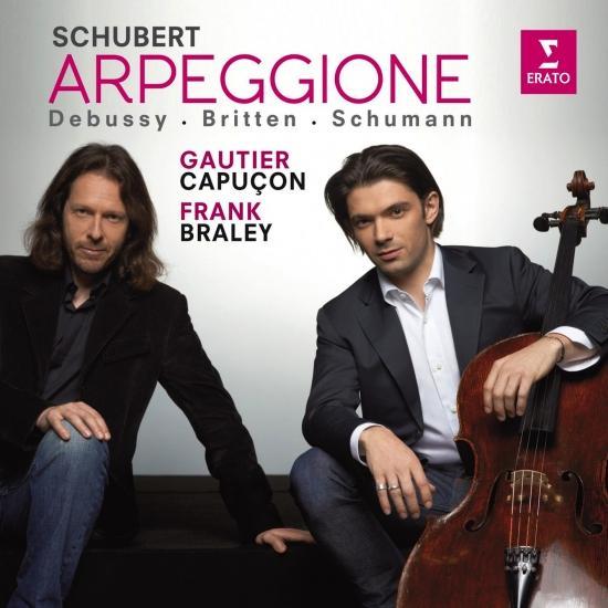 Cover Schubert / Schumann / Debussy / Britten