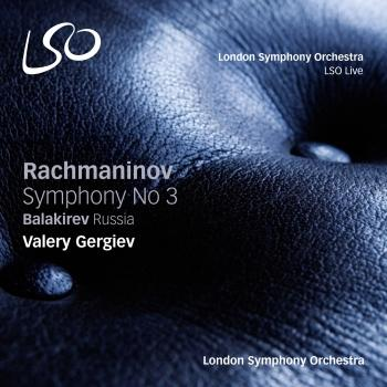 Cover Rachmaninov: Symphony No. 3 - Balakirev: Russia