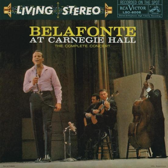 Cover Belafonte: At Carnegie Hall