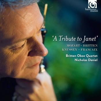 Cover Mozart, Britten, Knussen & Françaix: A Tribute to Janet