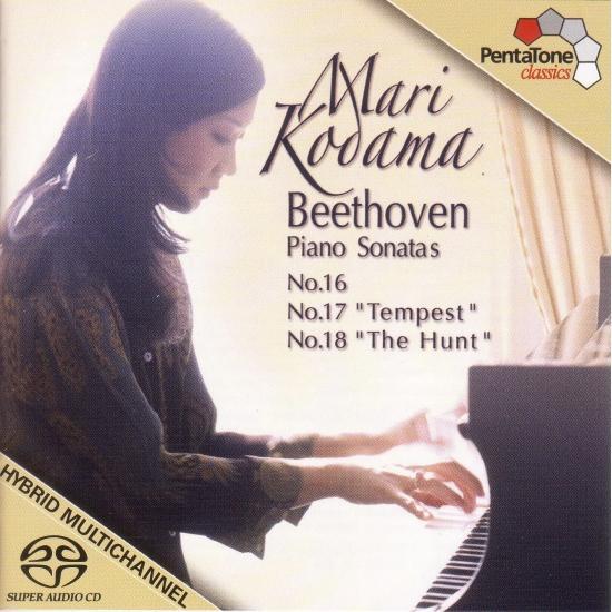 Cover Beethoven: Piano Sonatas Nos. 16-18