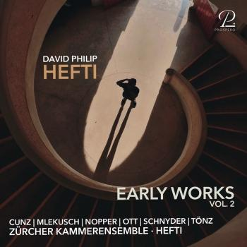 Cover David Philip Hefti: Early Works, Vol. II