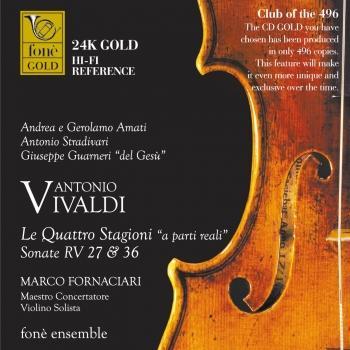 Cover Vivaldi: Le Quattro Stagioni 'a parti reali' Sonate RV 27 & 36