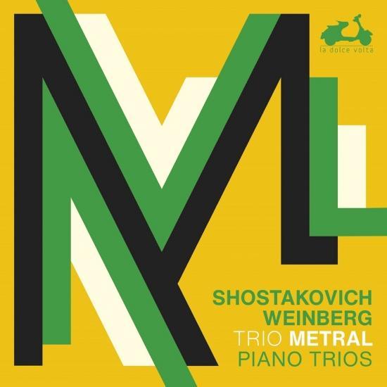 Cover Shostakovich, Weinberg: 3 Piano Trios