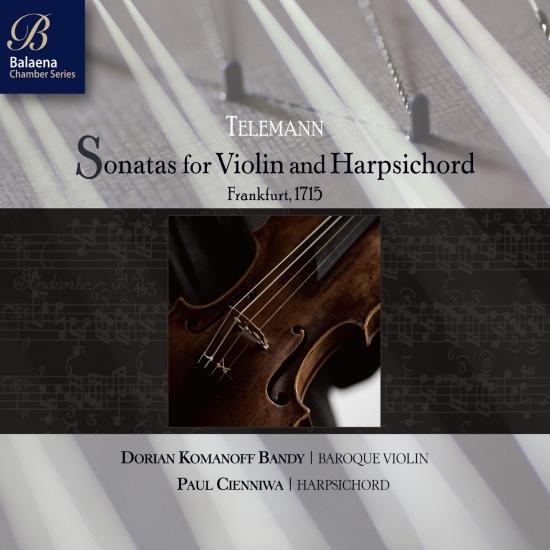 Cover Telemann: Sonatas for Violin & Harpsichord