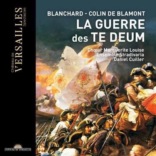 Cover Blanchart & Colin de Blamont: La guerre des Te Deum