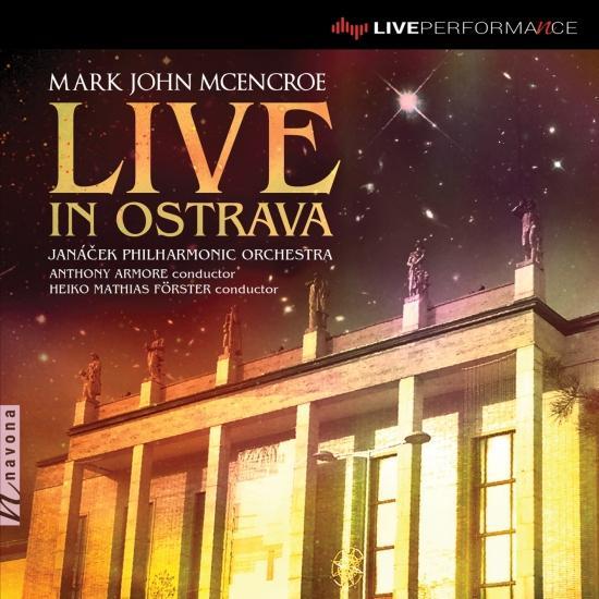Cover Mark John McEncroe: Live in Ostrava