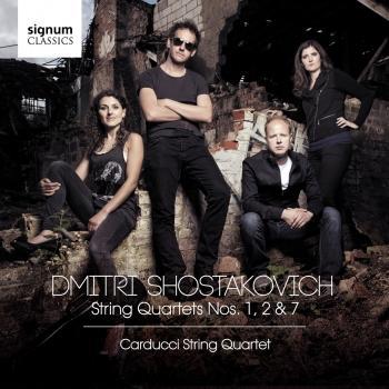 Cover Shostakovich: String Quartets Nos. 1, 2 & 7