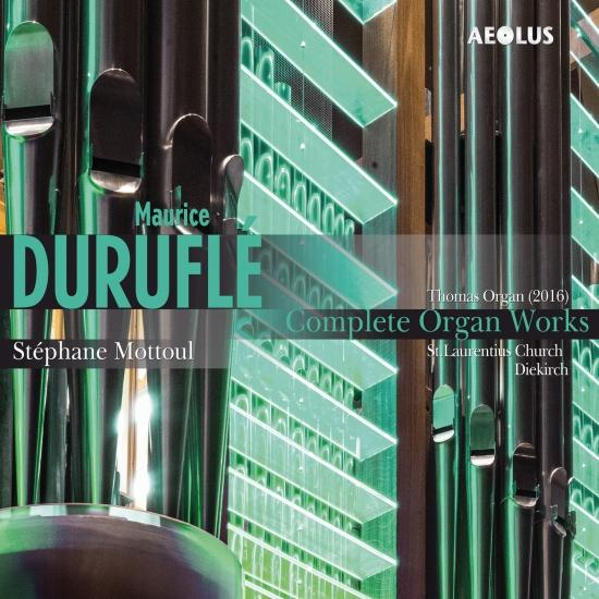 Cover Maurice Duruflé: Complete organ works