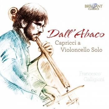Cover Dall'Abaco: Capricci a Violoncello Solo