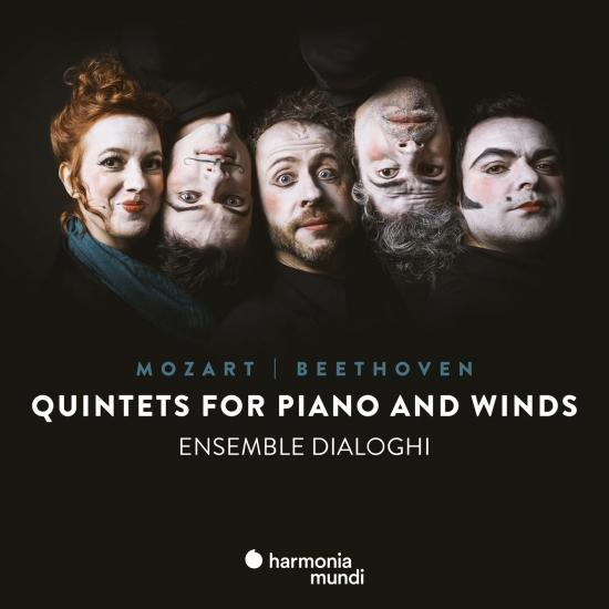 Cover Mozart & Beethoven: Quintets for piano and winds