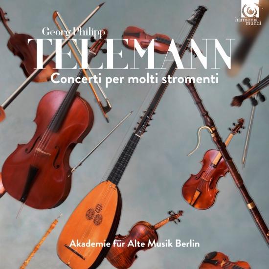 Cover Telemann: Concerti per molti stromenti