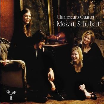 Cover Chiaroscuro Quartet: Mozart, Schubert