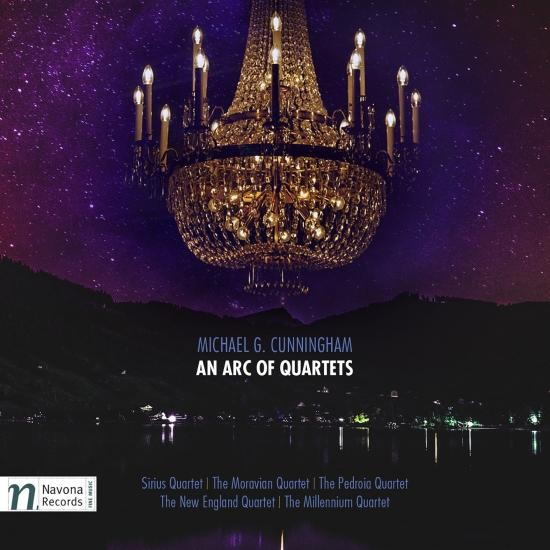 Cover Michael G. Cunningham: An Arc of Quartets