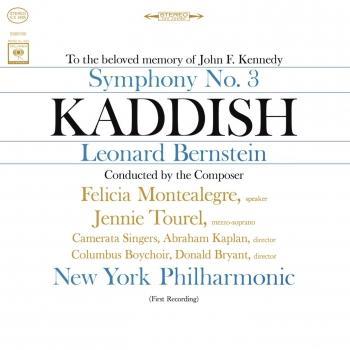 Cover Bernstein: Symphony No. 3 'Kaddish' (Remastered)