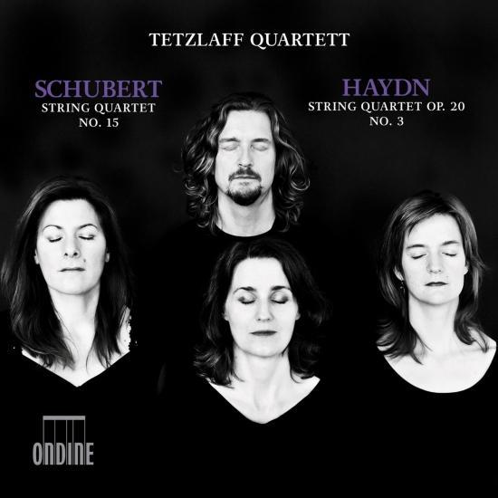 Cover Schubert: String Quartet No. 15 - Haydn: String Quartet No. 26