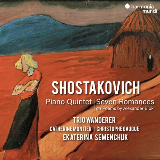 Cover Shostakovich: Piano Quintet & Seven Romances on Poems by Alexander Blok