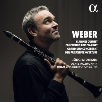 Cover Weber: Clarinet Quintet, Concertino for Clarinet, Grand Duo Concertant & Der Freischütz Overture