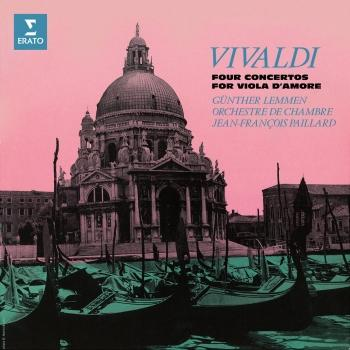 Cover Vivaldi: Concertos for Viola d'amore, RV 97, 394, 395 & 396 (Remastered)