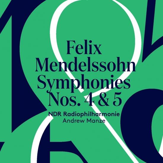 Cover Mendelssohn: Symphonies Nos. 4 & 5