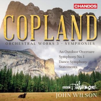 Cover Copland: Orchestral Works, Vol. 3 – Symphonies