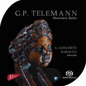 Cover G.P. Telemann - Ouverture Suites (Remastered 2016)
