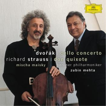 Cover Dvorák Cello Concerto Strauss, R. Don Quixote