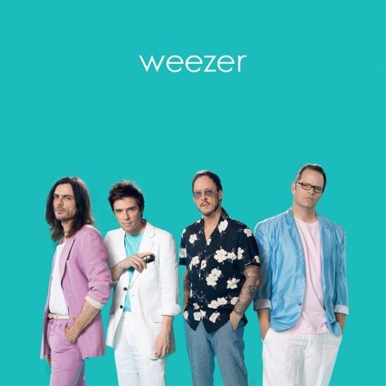 Cover Weezer (Teal Album)