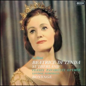 Cover Bellini: Beatrice di Tenda