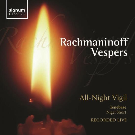 Cover Rachmaninov, S.: Vespers, Op. 37 (Live)