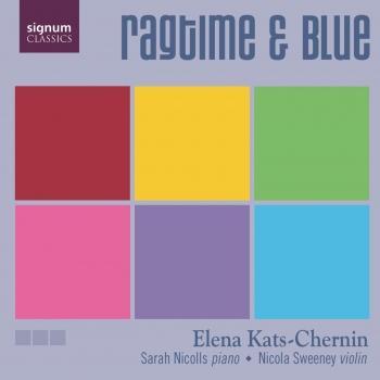 Cover Kats-Chernin: Ragtime and Blue