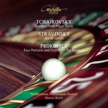 Cover Works by Tchaikovsky, Stravinsky, Prokofiev