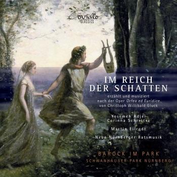 Cover Im Reich der Schatten (Erzählt und musiziert nach der Oper Orfeo und Euridice von Gluck)