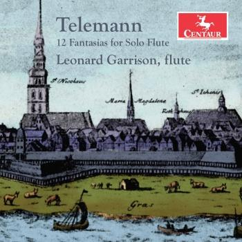Cover Telemann: 12 Fantasias for Solo Flute, TWV 40:2-13