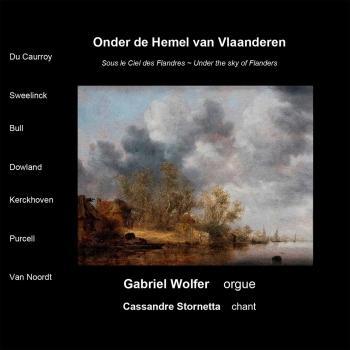 Cover Onder de Hemel van Vlaanderen
