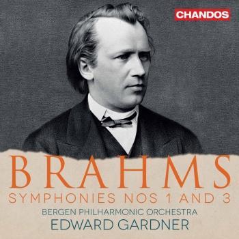 Cover Brahms: Symphonies Nos. 1 & 3