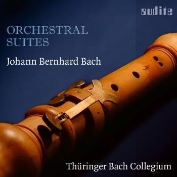 Cover Johann Bernhard Bach: Orchestral Suites