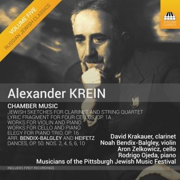 Cover Alexander Krein: Chamber Music, Vol. 5