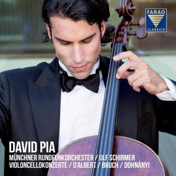 Cover Violoncellokonzerte: d'Albert, Bruch, Dohnányi
