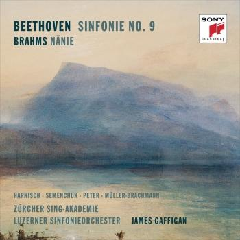 Cover Beethoven: Symphony No. 9 & Brahms: Nänie