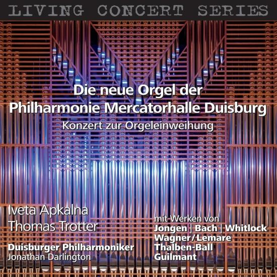 Cover The New Organ of the Philharmonie Mercatorhalle Duisburg