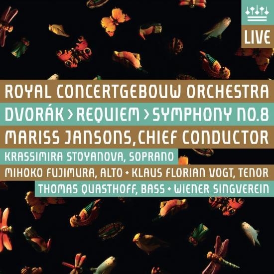 Cover Dvorak: Requiem, Op. 89 & Symphony No. 8, Op. 88 (Live)