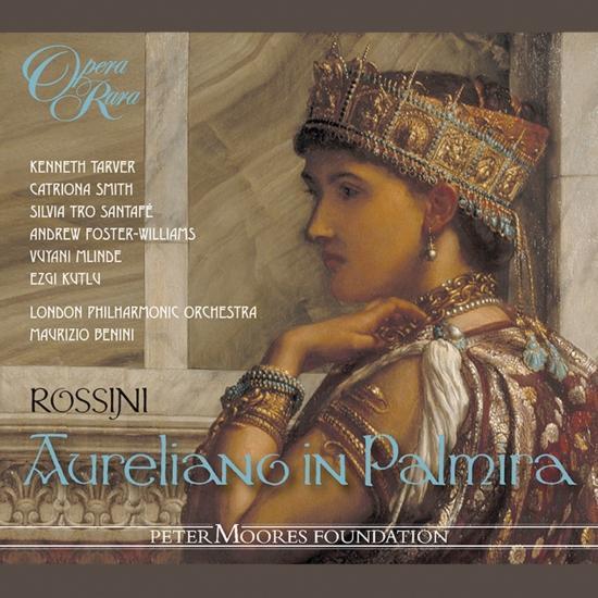 Cover Rossini: Aureliano in Palmira