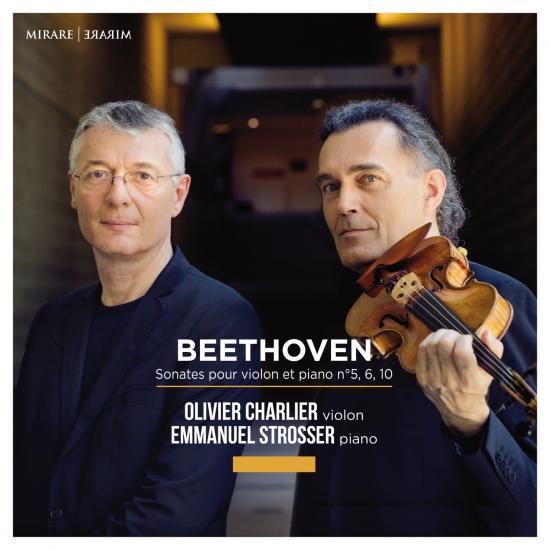 Cover Beethoven: Sonates pour violon et piano