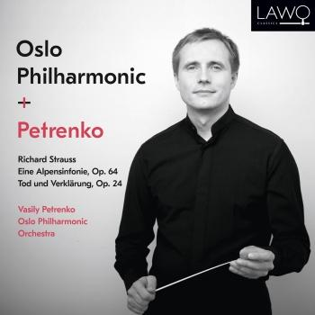 Cover Richard Strauss: Eine Alpensinfonie, Op. 64 / Tod und Verklärung, Op. 24