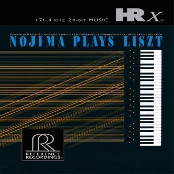 Cover Nojima Plays Liszt