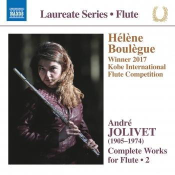 Cover Jolivet: Complete Works for Flute, Vol. 2
